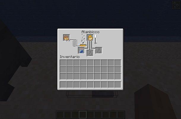 Alambicco su Minecraft