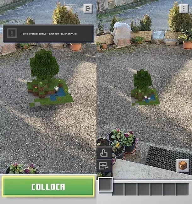 Come giocare a Minecraft Earth