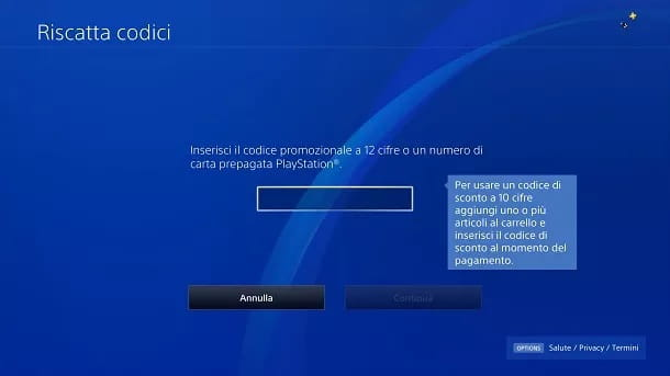 Come riscattare codice Fortnite PS4
