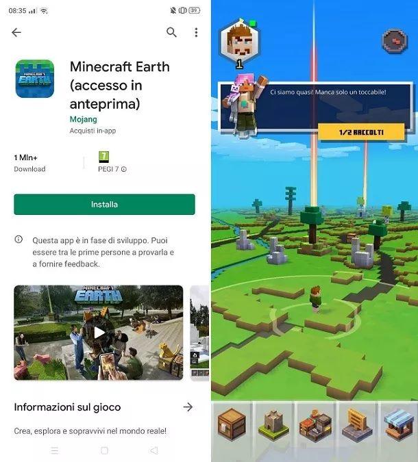 Come scaricare Minecraft Earth su Android