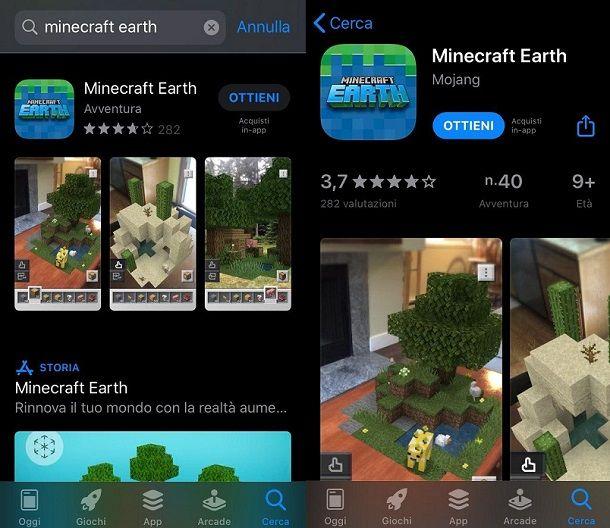 Come scaricare Minecraft Earth su iOS