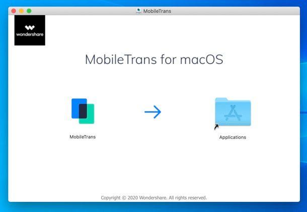 Installazione Wondershare MobileTrans