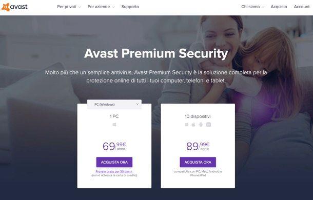 Avast Antivirus Premium