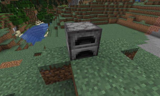 Fornace su Minecraft
