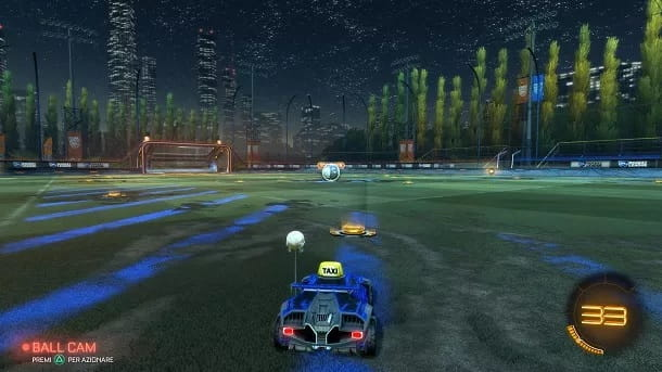 Giocare Rocket League