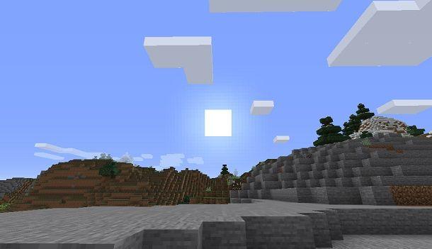 Giorno su Minecraft
