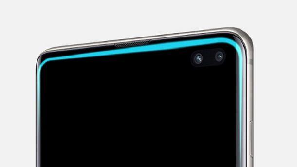 Illuminazione bordo schermo Samsung