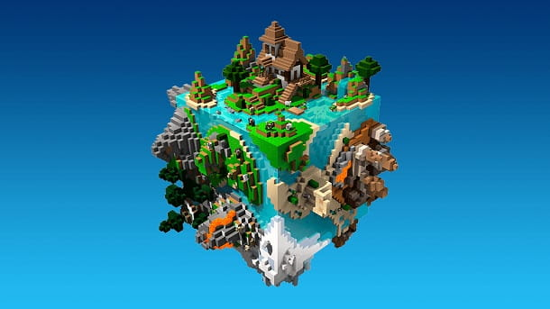 Minecraft Earth Mondo