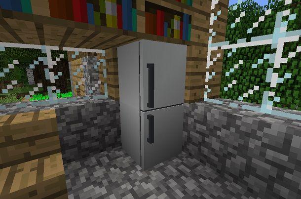 Mod Frigorifero su Minecraft