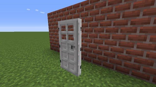 Posizionare porta di ferro