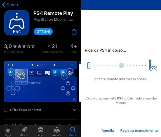 Remote Play iPhone