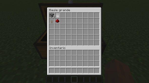 Risorse per costruire un frigo su Minecraft