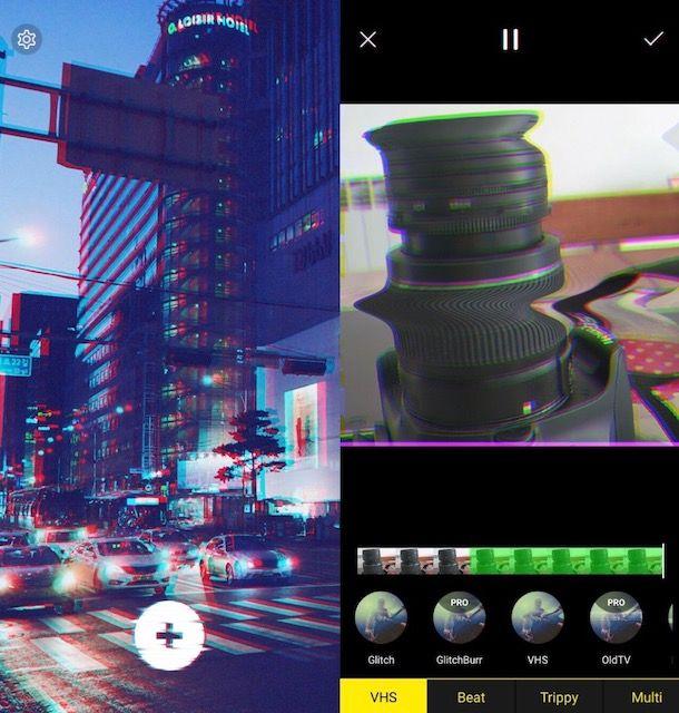 App per video vintage