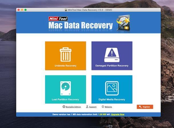 Miglior software recupero dati Mac