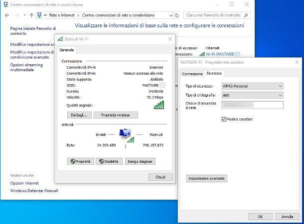 Come condividere password WiFi su PC
