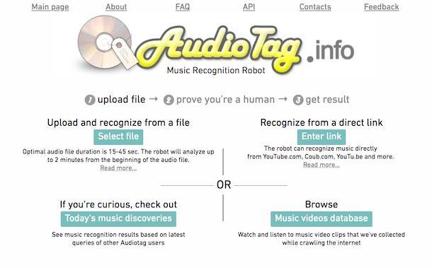 AudioTag Online