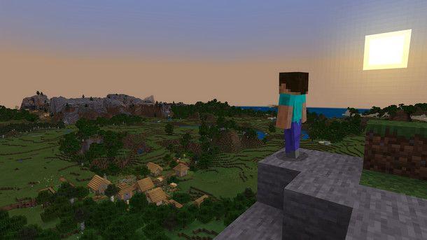 Due sono i Minecraft tradizionali