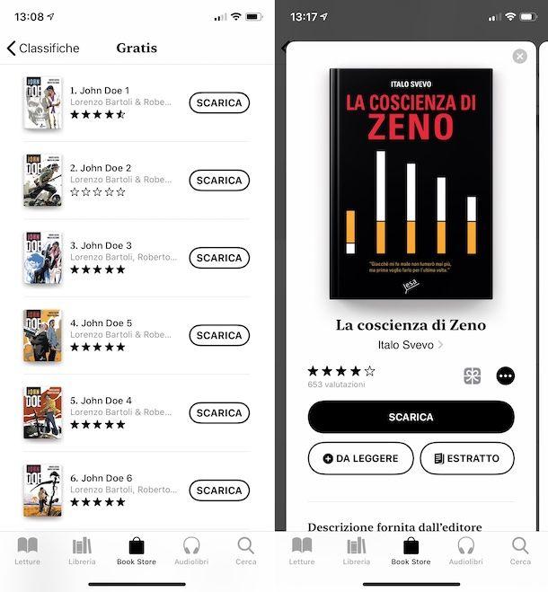 Libri iPhone