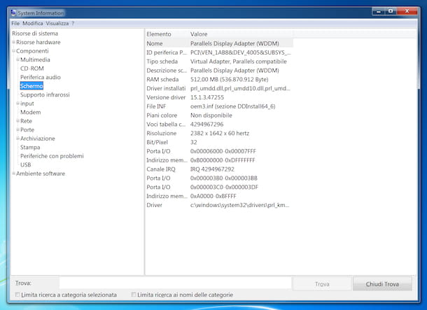 System Inforamtion Windows 7
