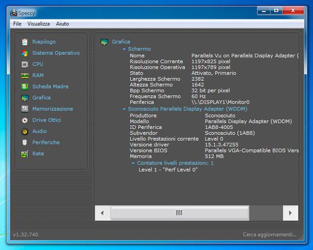 Speccy Windows 7