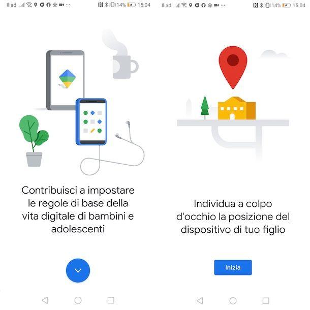 Come configurare Google Family Link