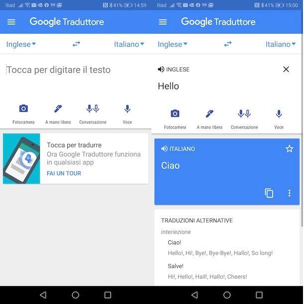 Come tradurre con Google Traduttore