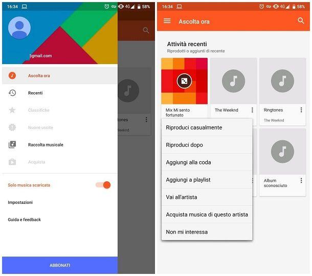 Come creare una playlist su Android