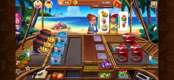 Giochi di cucina per smartphone e tablet