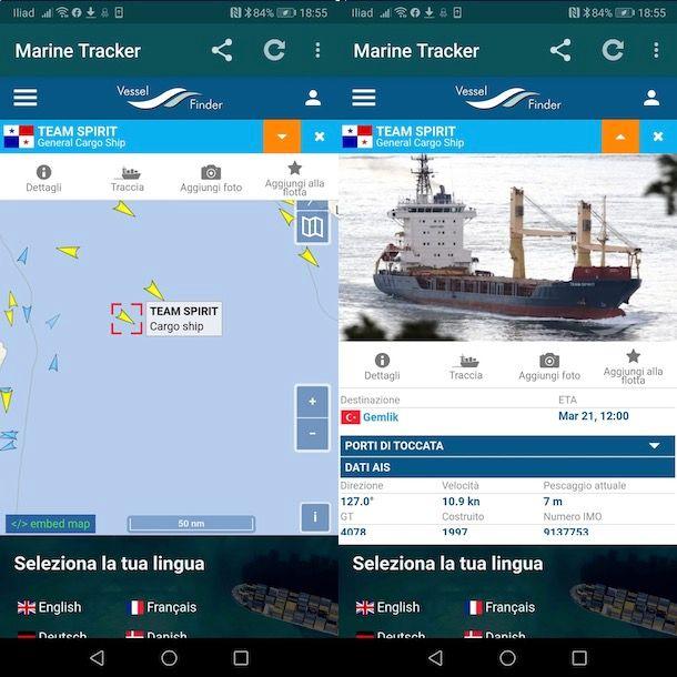 Radar per nave