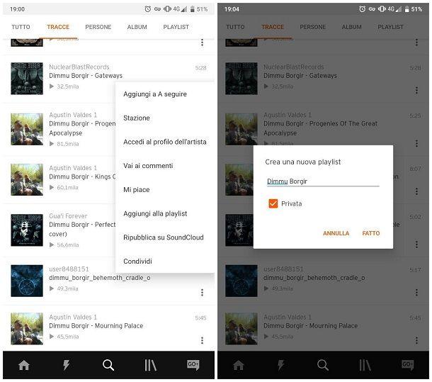 Come creare una playlist su Android e iPhone