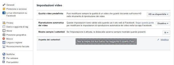 Video FB automatico