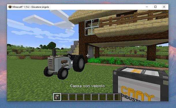 Trattore Minecraft