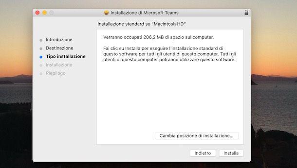 Come scaricare Microsoft Teams su Mac