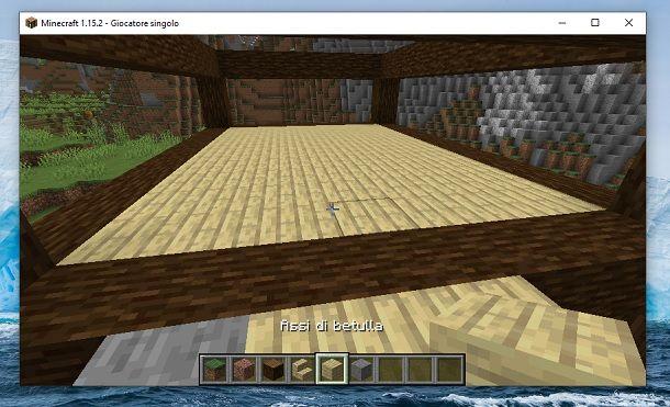 Primo piano Minecraft