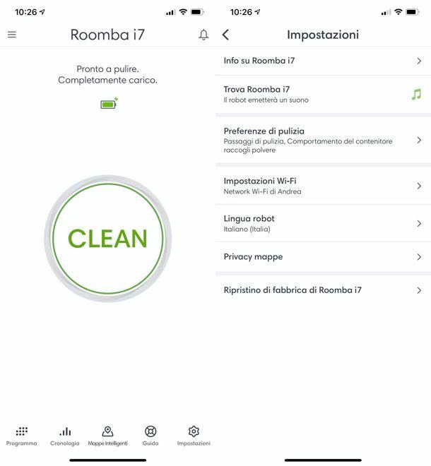 App iRobot HOME