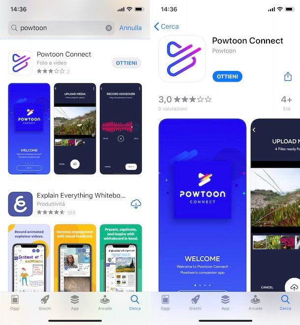 Come scaricare Powtoon gratis su smartphone e tablet
