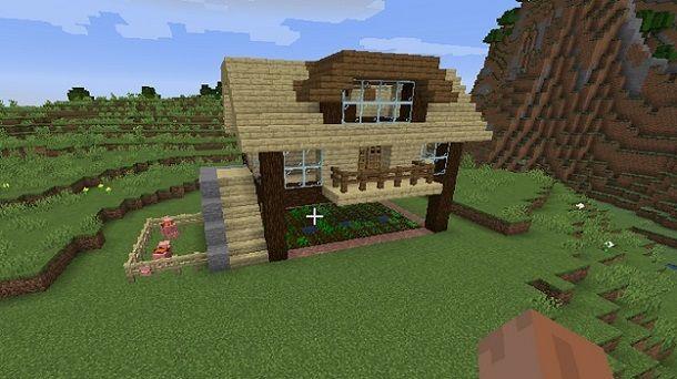 Fattoria su Minecraft