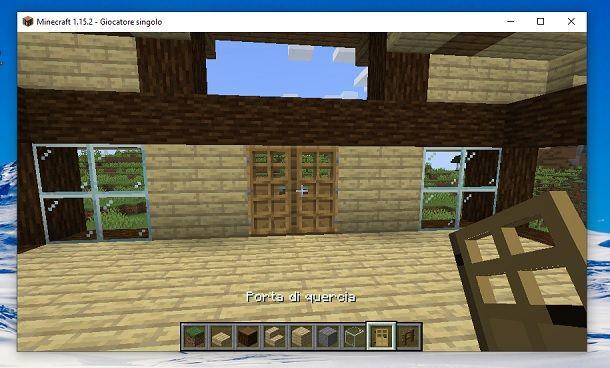 Porte altro lato Minecraft