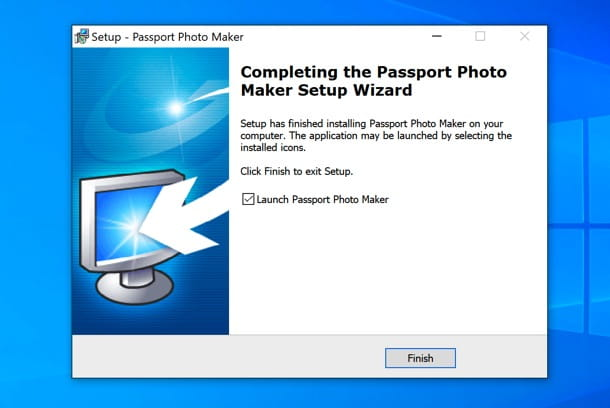 Installazione Passport Photo Maker