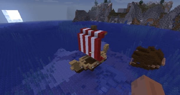 Barca Minecraft