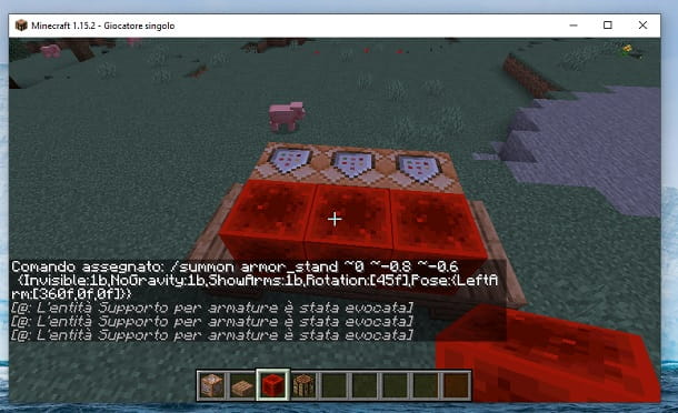 Blocchi di redstone Minecraft
