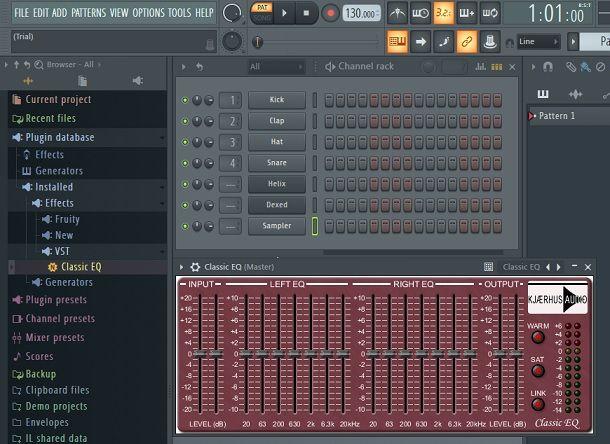 Classic EQ Kjaerhus Audio