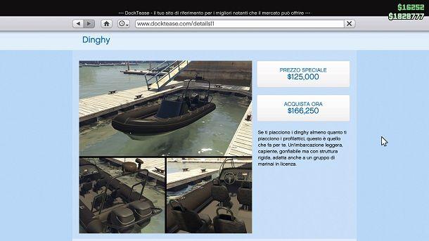 Dinghy GTA Online