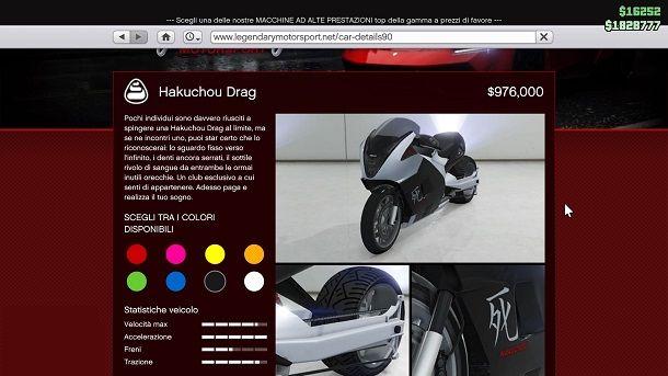 Hakuchou Drag GTA Online