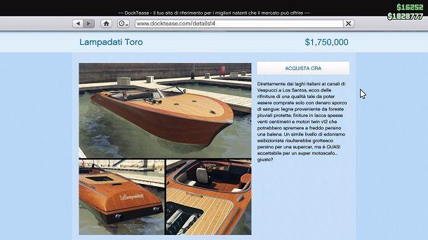 Lampadati Toro GTA Online
