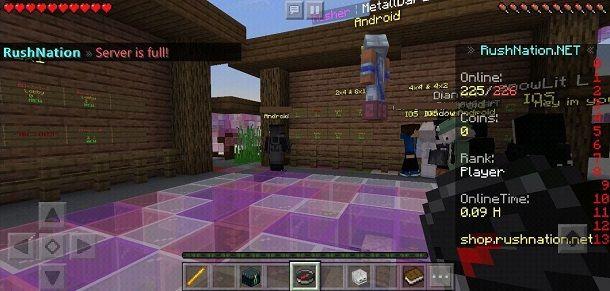 Lobby server Minecraft
