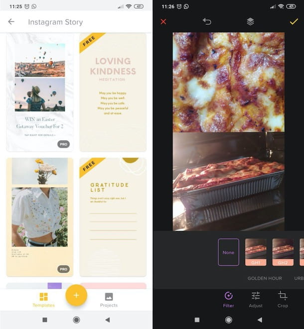 Altre app per storie Instagram
