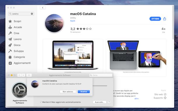 Come reinstallare mac OS