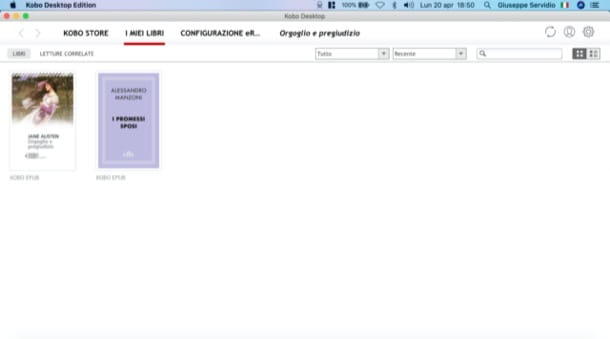 Scaricare libri Kobo su PC