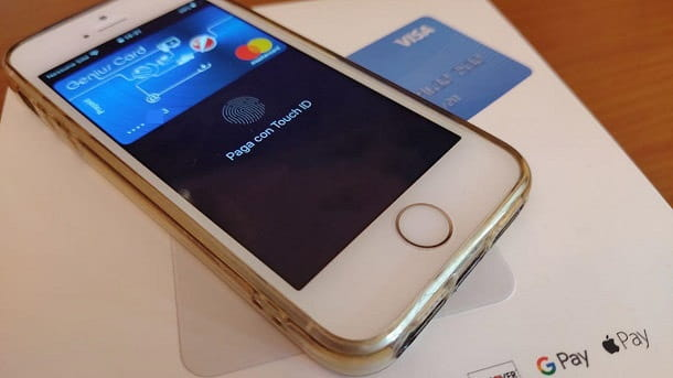 imbolo Apple Pay NFC iPhone